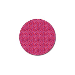 Red White And Blue Leopard Print  Golf Ball Marker by PhotoNOLA