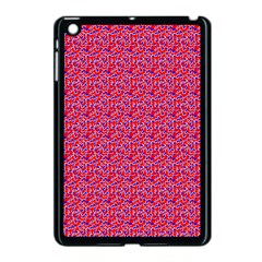 Red White And Blue Leopard Print  Apple Ipad Mini Case (black) by PhotoNOLA