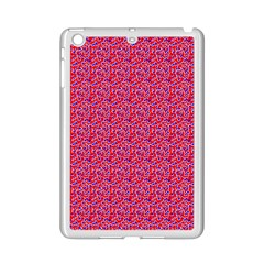 Red White And Blue Leopard Print  Ipad Mini 2 Enamel Coated Cases by PhotoNOLA