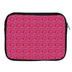 Red White And Blue Leopard Print  Apple Ipad 2/3/4 Zipper Cases by PhotoNOLA