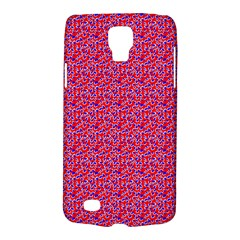 Red White And Blue Leopard Print  Galaxy S4 Active by PhotoNOLA