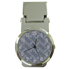Decorative Ornamental Geometric Pattern Money Clip Watches