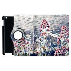 Port Flowers Apple Ipad 3/4 Flip 360 Case by DeneWestUK