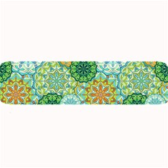 Forest Spirits  Green Mandalas  Large Bar Mat by bunart