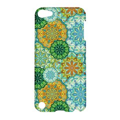 Forest Spirits  Green Mandalas  Apple Ipod Touch 5 Hardshell Case by bunart