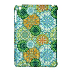 Forest Spirits  Green Mandalas  Apple Ipad Mini Hardshell Case (compatible With Smart Cover) by bunart