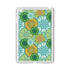 Forest Spirits  Green Mandalas  Apple Ipad Mini 2 Case (white) by bunart