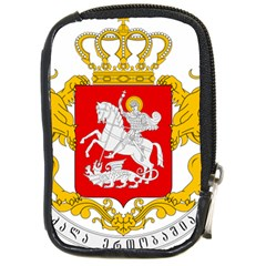 Greater Coat Of Arms Of Georgia  Compact Camera Cases by abbeyz71