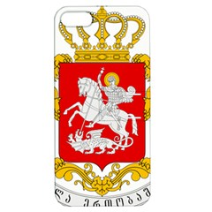 Greater Coat Of Arms Of Georgia  Apple Iphone 5 Hardshell Case With Stand by abbeyz71