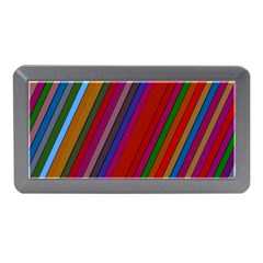 Color Stripes Pattern Memory Card Reader (mini) by Simbadda