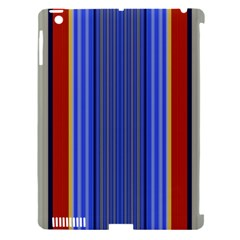 Colorful Stripes Background Apple Ipad 3/4 Hardshell Case (compatible With Smart Cover) by Simbadda