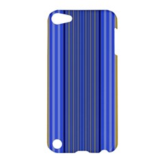 Colorful Stripes Background Apple Ipod Touch 5 Hardshell Case by Simbadda