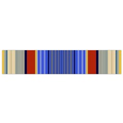 Colorful Stripes Background Flano Scarf (small) by Simbadda