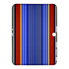 Colorful Stripes Background Samsung Galaxy Tab 4 (10 1 ) Hardshell Case  by Simbadda