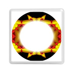 Circle Fractal Frame Memory Card Reader (square)