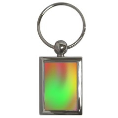 November Blurry Brilliant Colors Key Chains (rectangle)  by Simbadda