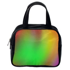 November Blurry Brilliant Colors Classic Handbags (one Side) by Simbadda