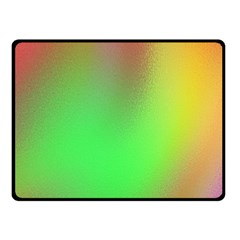 November Blurry Brilliant Colors Fleece Blanket (small) by Simbadda
