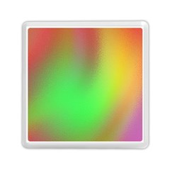 November Blurry Brilliant Colors Memory Card Reader (square)