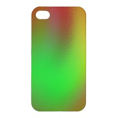 November Blurry Brilliant Colors Apple Iphone 4/4s Premium Hardshell Case by Simbadda