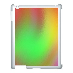 November Blurry Brilliant Colors Apple Ipad 3/4 Case (white) by Simbadda