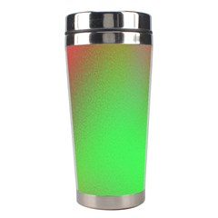 November Blurry Brilliant Colors Stainless Steel Travel Tumblers by Simbadda