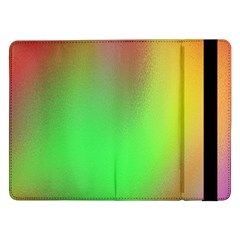 November Blurry Brilliant Colors Samsung Galaxy Tab Pro 12 2  Flip Case by Simbadda