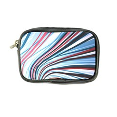 Wavy Stripes Background Coin Purse