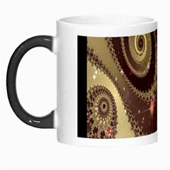 Space Fractal Abstraction Digital Computer Graphic Morph Mugs by Simbadda