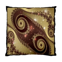 Space Fractal Abstraction Digital Computer Graphic Standard Cushion Case (one Side) by Simbadda
