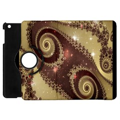 Space Fractal Abstraction Digital Computer Graphic Apple Ipad Mini Flip 360 Case by Simbadda