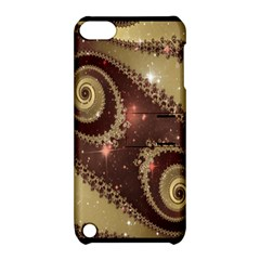 Space Fractal Abstraction Digital Computer Graphic Apple Ipod Touch 5 Hardshell Case With Stand by Simbadda
