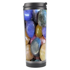 Rock Tumbler Used To Polish A Collection Of Small Colorful Pebbles Travel Tumbler by Simbadda