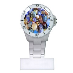 Rock Tumbler Used To Polish A Collection Of Small Colorful Pebbles Plastic Nurses Watch