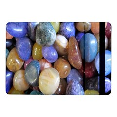 Rock Tumbler Used To Polish A Collection Of Small Colorful Pebbles Samsung Galaxy Tab Pro 10 1  Flip Case by Simbadda