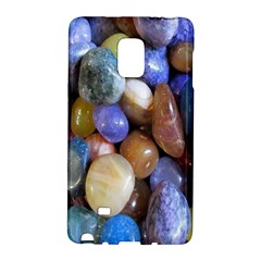Rock Tumbler Used To Polish A Collection Of Small Colorful Pebbles Galaxy Note Edge by Simbadda