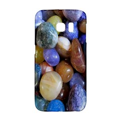 Rock Tumbler Used To Polish A Collection Of Small Colorful Pebbles Galaxy S6 Edge by Simbadda