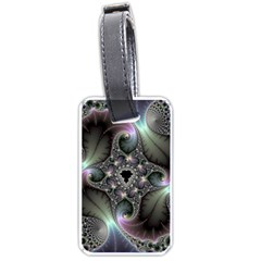 Precious Spiral Wallpaper Luggage Tags (one Side)