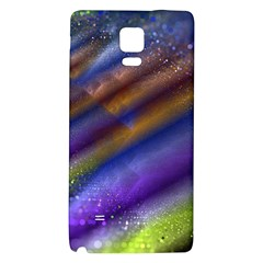 Fractal Color Stripes Galaxy Note 4 Back Case by Simbadda