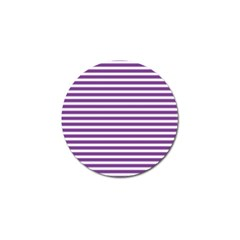 Horizontal Stripes Purple Golf Ball Marker (10 Pack) by Mariart