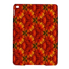 Background Flower Fractal Ipad Air 2 Hardshell Cases by Simbadda