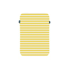 Horizontal Stripes Yellow Apple Ipad Mini Protective Soft Cases by Mariart