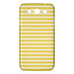 Horizontal Stripes Yellow Samsung Galaxy Mega 5 8 I9152 Hardshell Case  by Mariart