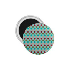 Large Colored Polka Dots Line Circle 1 75  Magnets by Mariart