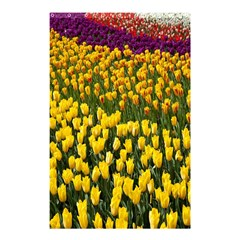 Colorful Tulips In Keukenhof Gardens Wallpaper Shower Curtain 48  X 72  (small)  by Simbadda