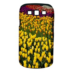 Colorful Tulips In Keukenhof Gardens Wallpaper Samsung Galaxy S Iii Classic Hardshell Case (pc+silicone) by Simbadda