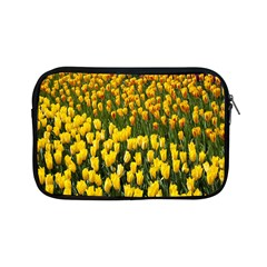 Colorful Tulips In Keukenhof Gardens Wallpaper Apple Ipad Mini Zipper Cases by Simbadda