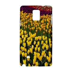 Colorful Tulips In Keukenhof Gardens Wallpaper Samsung Galaxy Note 4 Hardshell Case by Simbadda