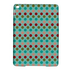 Large Colored Polka Dots Line Circle Ipad Air 2 Hardshell Cases