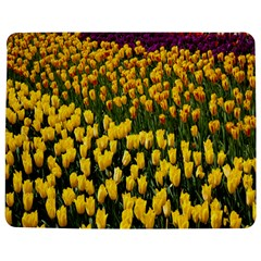 Colorful Tulips In Keukenhof Gardens Wallpaper Jigsaw Puzzle Photo Stand (rectangular) by Simbadda